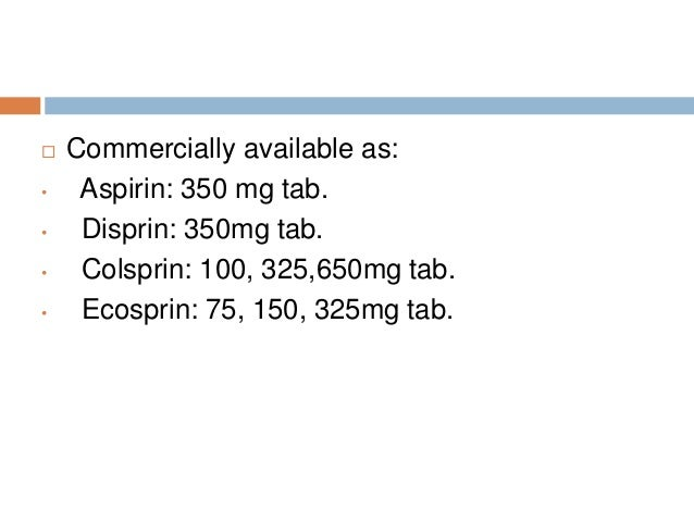 Bayer Aspirin 325 Mg Tablet - WebMD