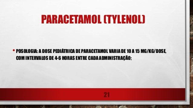 paracetamol bula
