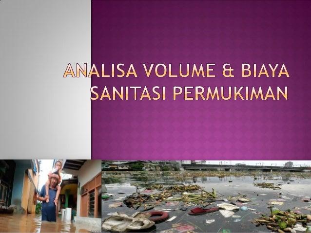 SASARAN SEKTOR SANITASI RPJMN (2010 - 2014)Drainase1.   Terbebasnya saluran drainase dari sampah agar mampu meningkatkan  ...