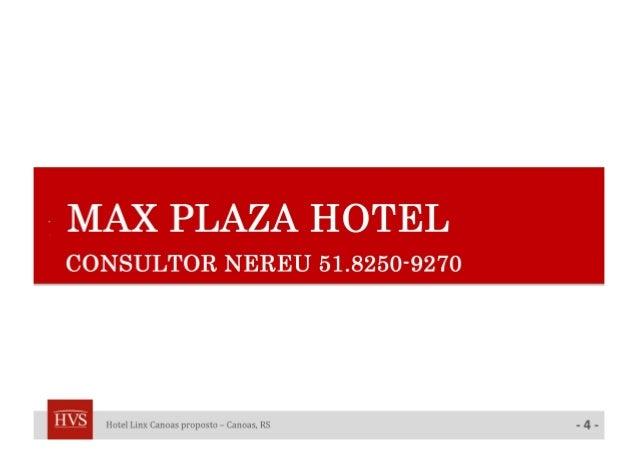 Melnick Even Maxplaza Hotel - Analise Viabilidade Hoteleira