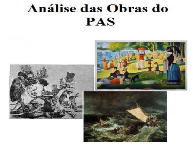 Analise das obras do pas