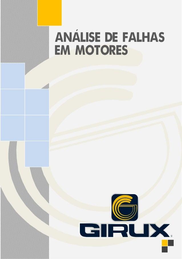 ANALISE DE FALHAS EM MOTORES