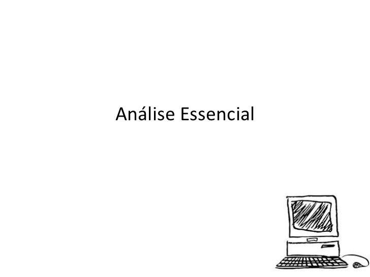 Análise Essencial<br />