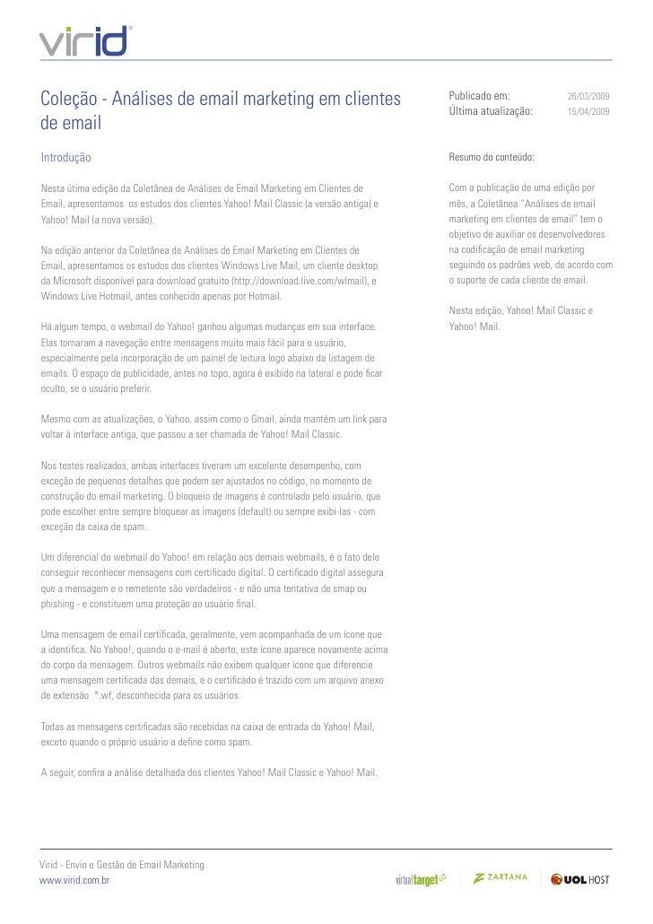 Analises clientesdeemail yahoo_mail