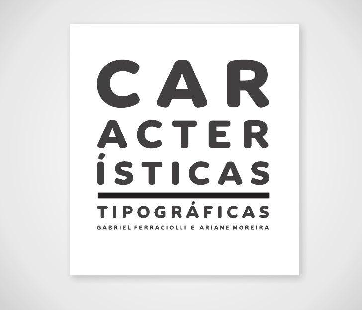 Análise da tipografia Arista