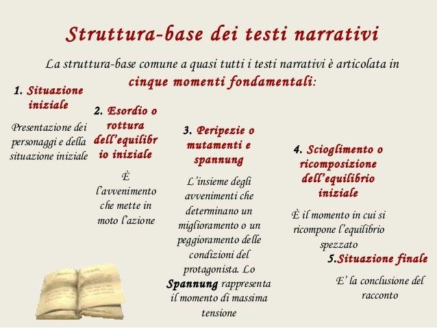 Analisi Del Testo Narrativo X