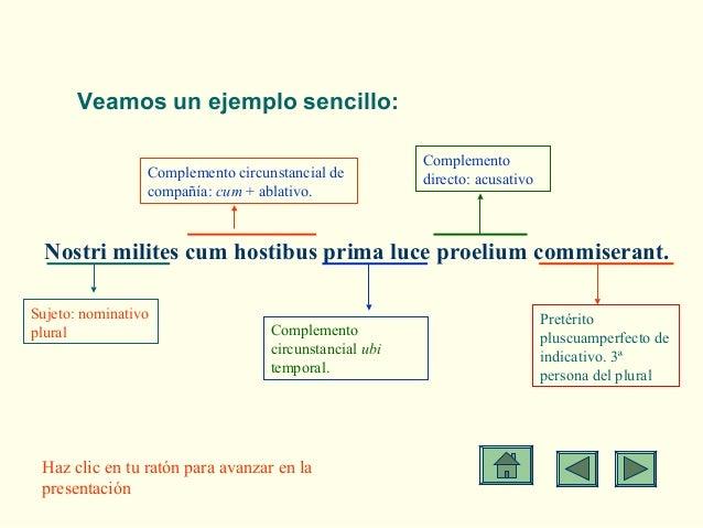 Análisis Sintáctico Latín