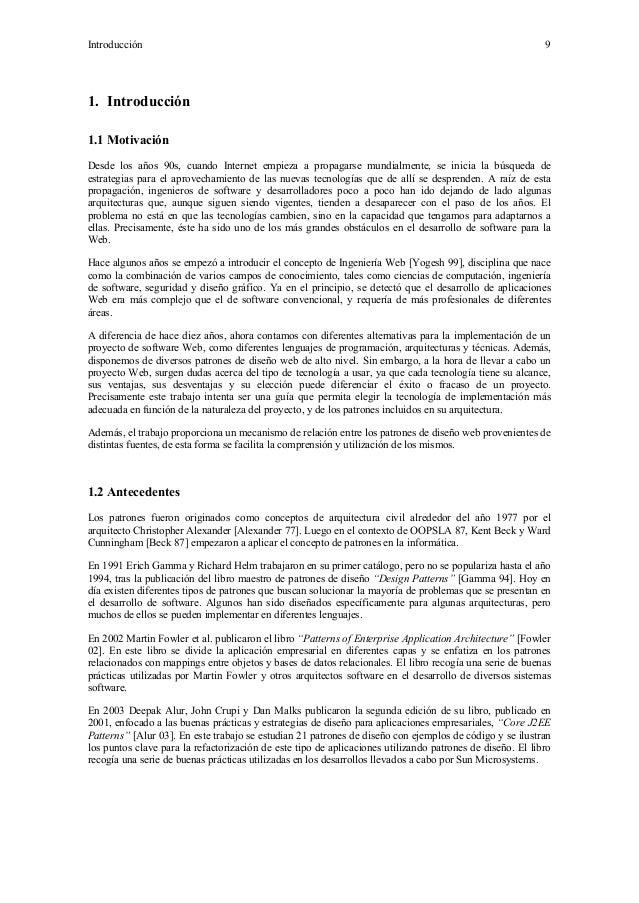 Analisis desarrollo-patrones-j2 ee