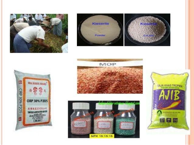  Memeriksa unsur-unsur seperti N,P,K,Mg dan B.  Menjaga kualiti produk.  Kawalan mutu.  Memastikan kandungan nutrisi b...