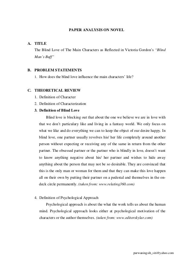 """character analysis in the story the blind man Eident, eng 102-04 meghann eident febuary 27 2014 eng comp 102-04 prof veninger character analysis of """"story of an hour"""" kate chopin was brilliant at the art of short stories, in that she could compress so much of a character's personality and growth into a."""