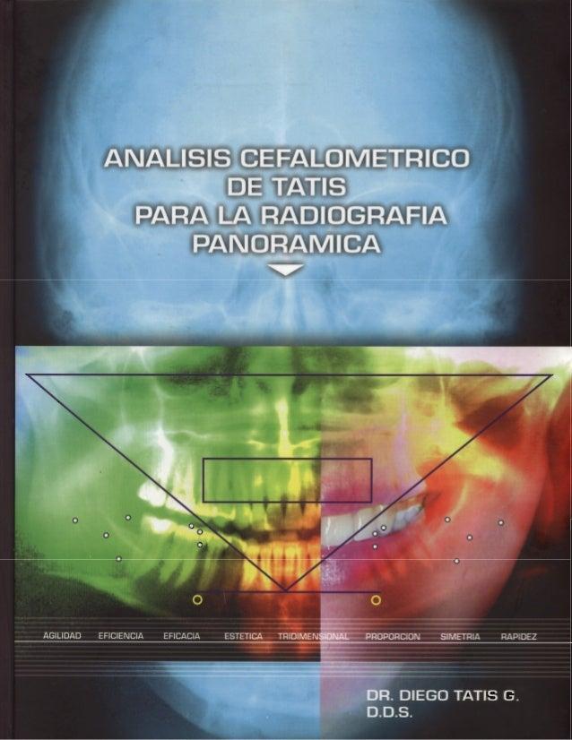 Analisis cefalometrico radiografia panoramica