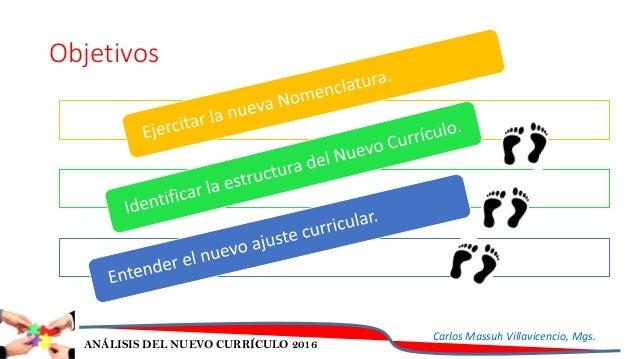 ANÁLISIS NUEVO CURRÍCULO Slide 2