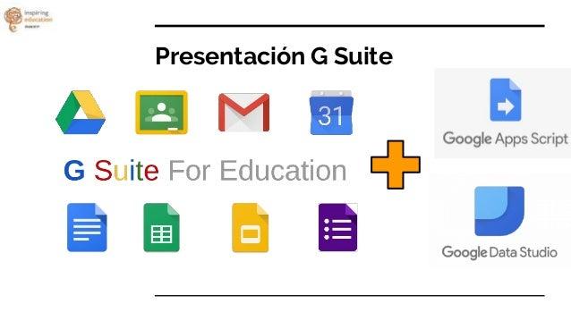 Análisis de datos con G Suite for Education Slide 2
