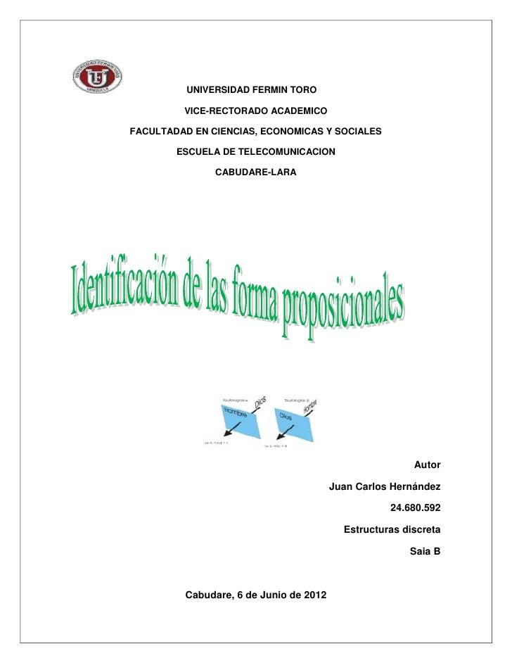 UNIVERSIDAD FERMIN TORO         VICE-RECTORADO ACADEMICOFACULTADAD EN CIENCIAS, ECONOMICAS Y SOCIALES        ESCUELA DE TE...