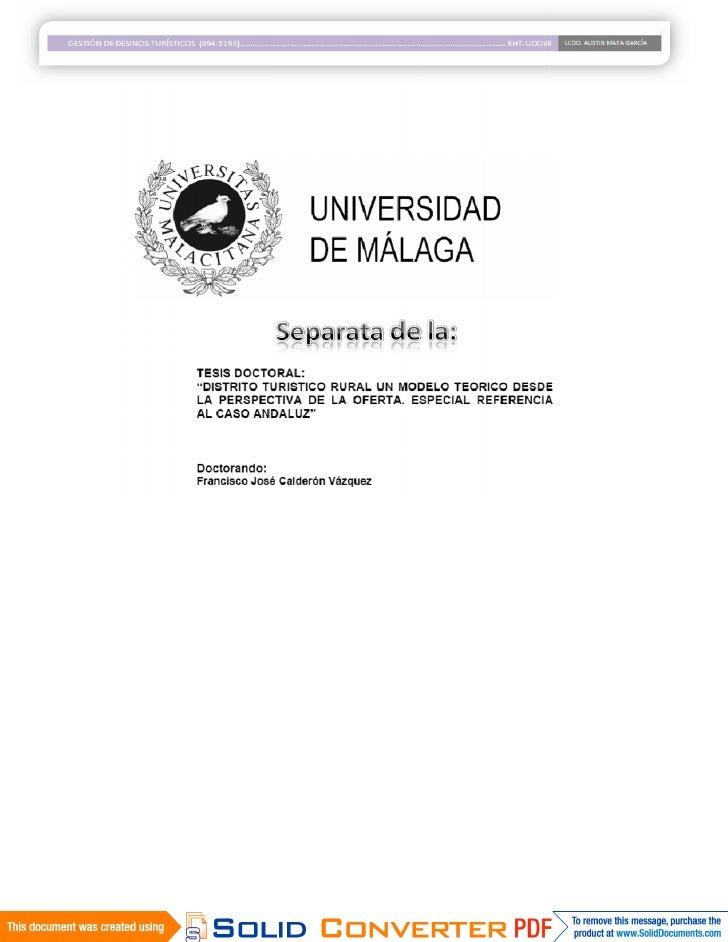 II.5.2.2.- El Análisis de Situación. El Análisis de la Oferta  El Análisis de situación comienza con un examen de la Ofert...