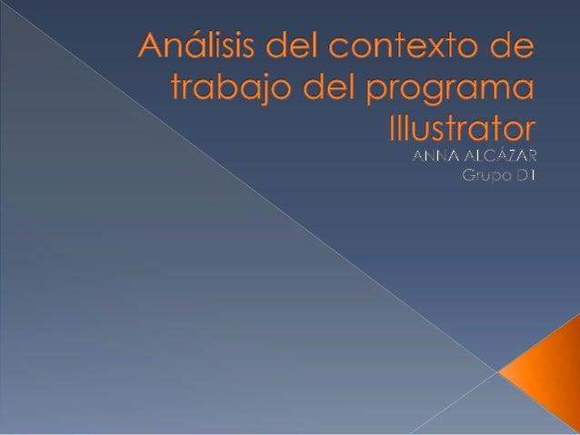  Illustrator es un programa de dibujo y diseño vectorial.  Lo utilizan diseñadores gráficos, maquetadores, infografistas...