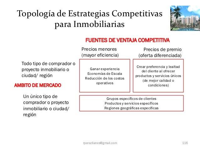 Topología de Estrategias Competitivas         para Inmobiliarias                              FUENTES DE VENTAJA COMPETITI...