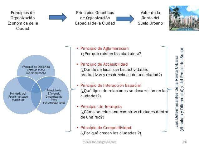 Principios de                             Principios Genéticos              Valor de la Organización                      ...