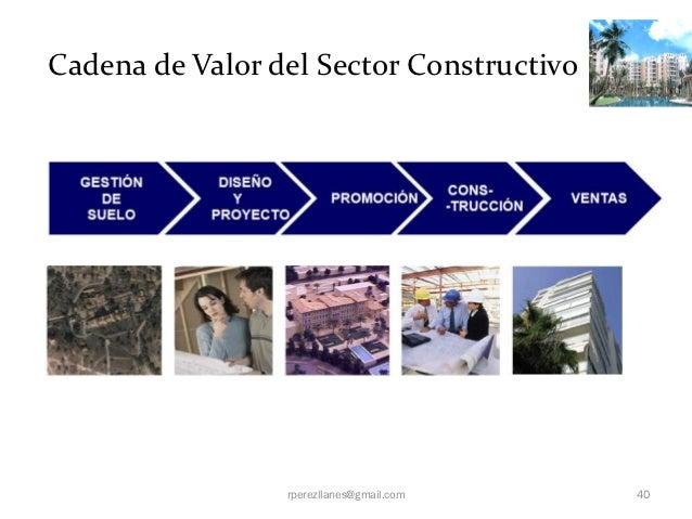 Cadena de Valor del Sector Constructivo                 rperezllanes@gmail.com   40