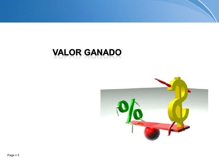 Analisis del valor ganado Slide 3