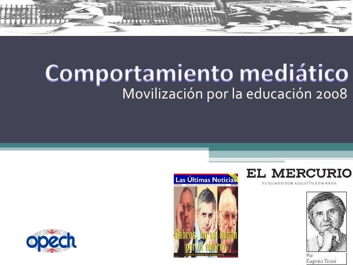Movilización por la educación 2008