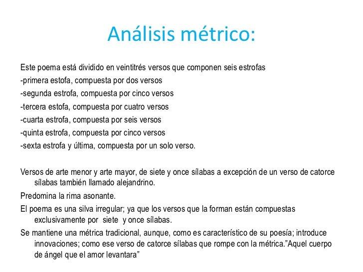 Analisis De Poema