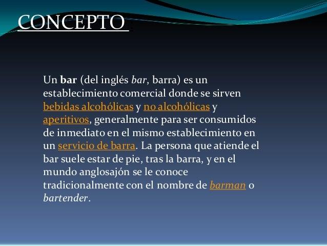 Analisis De Un Bar