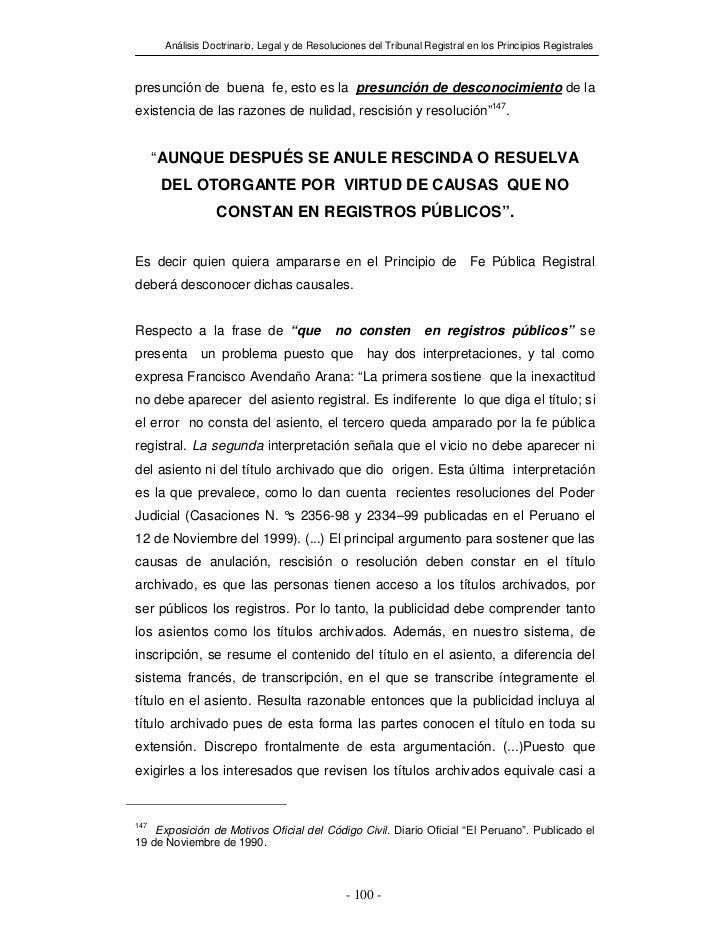 Analisis doctrinario derecho_registral