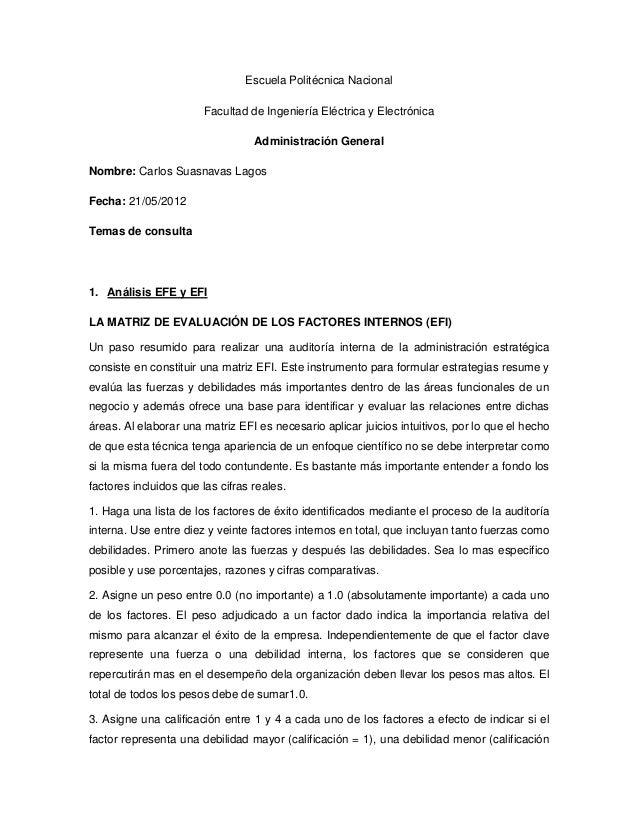 Escuela Politécnica Nacional                       Facultad de Ingeniería Eléctrica y Electrónica                         ...