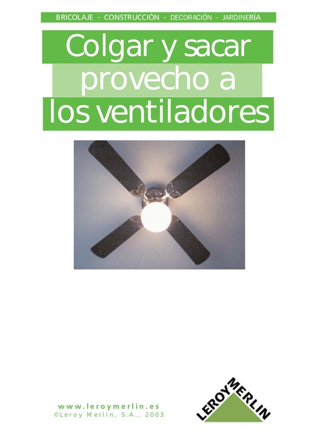 Analisis e instalacion de ventiladores techo - Instalacion de ventilador de techo ...