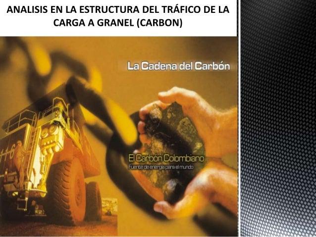 Existen diversos modos de transporte del carbón en el mundo y enColombia. En estricto rigor de lógica económica, el princi...