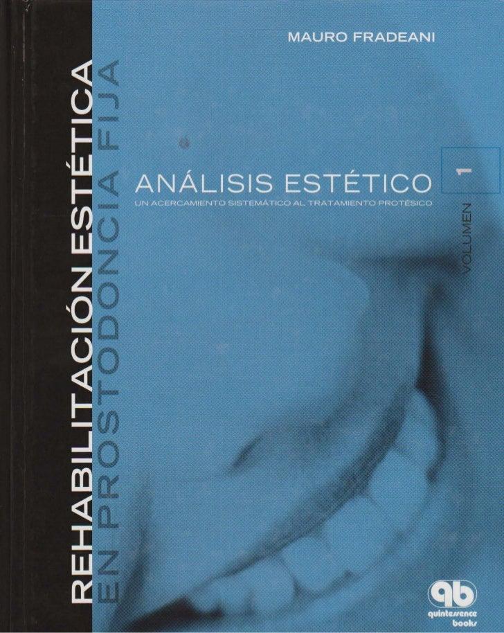 LIVRO Análise Estética: odontostation@gmail.com