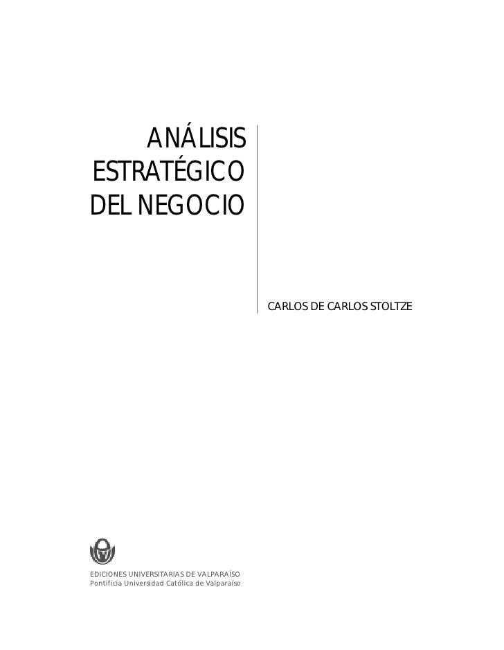 3                                                                           BASES CONCEPTUALES DEL ANÁLISIS ESTRATÉGICO DE...