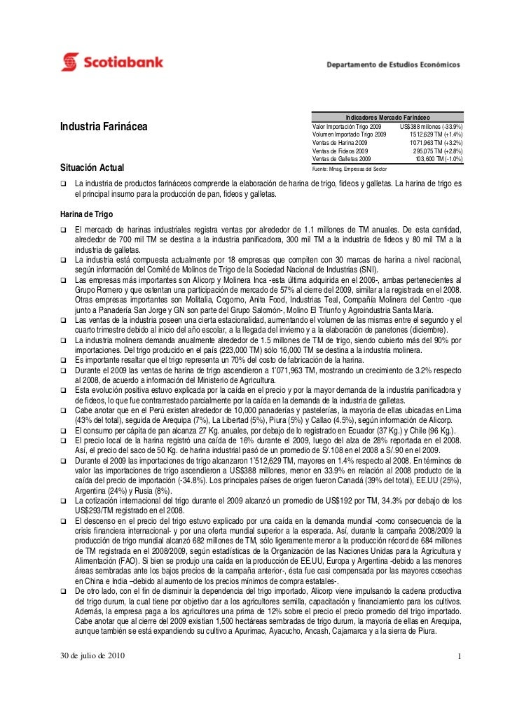 Indicadores Mercado FarináceoIndustria Farinácea                                                             Valor Importa...