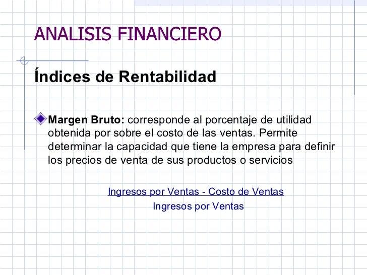 analisis financiero 2 el alumno conocerá las diferentes razones financieras el alumno comprenderá el concepto de análisis financiero y los usuarios de este análisis para la toma de.
