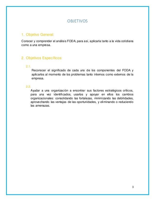Análisis FODA-DAFO Slide 3