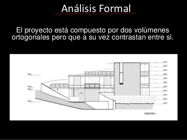 Analisis formal for Obra arquitectonica definicion
