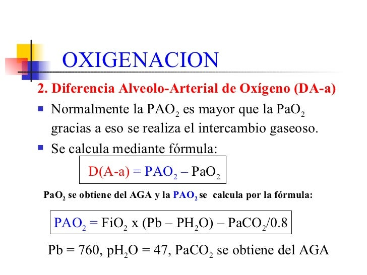 Gradiente alveolo arterial pdf download