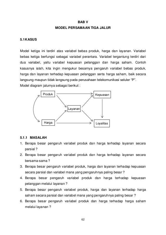 Analisis Jalur Path Analysis