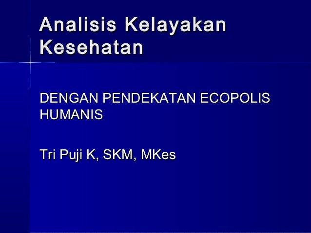 Analisis Kesehatan Lingkungan 3