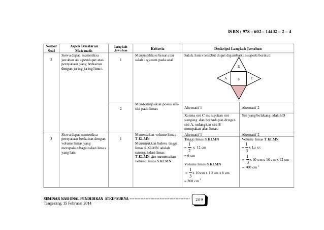 Analisis kesulitan belajara kemampuan penalaran matematis ...