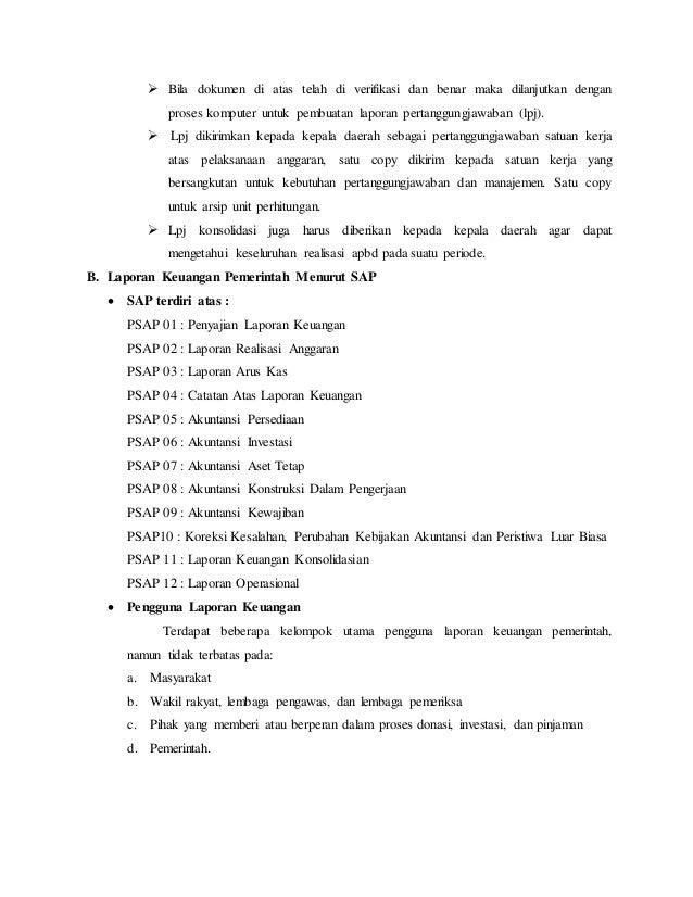 Contoh Makalah Analisis Laporan Keuangan Pemerintah Daerah