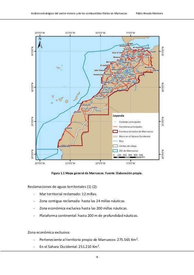 Análisis estratégico del sector minero y de los combustibles fósiles en Marruecos Pablo Amado Montero 10 1.1.3.- Población...