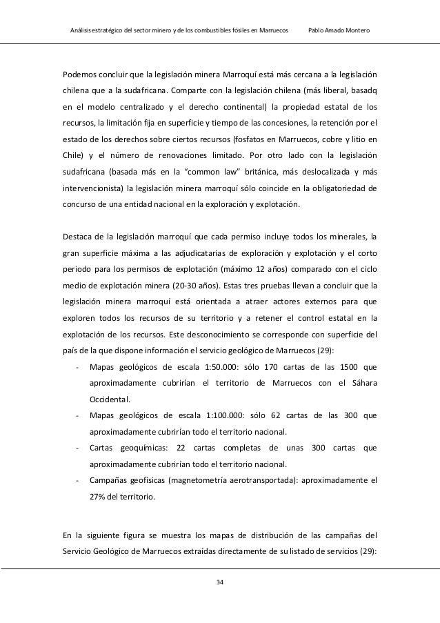 Análisis estratégico del sector minero y de los combustibles fósiles en Marruecos Pablo Amado Montero 36 Tabla 1.9 Tabla c...