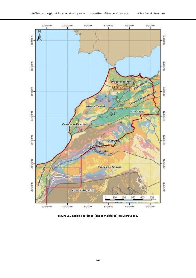 Análisis estratégico del sector minero y de los combustibles fósiles en Marruecos Pablo Amado Montero 54 Figura 2.4 Leyend...
