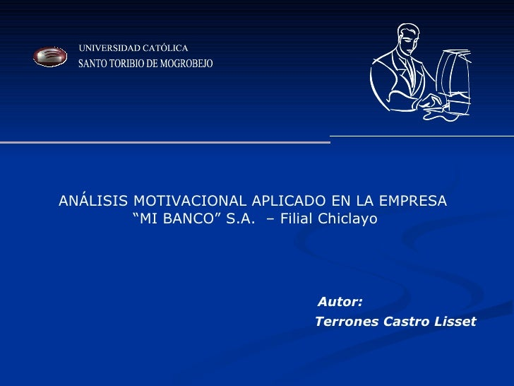 Analisis Motivacional De Mi Banco