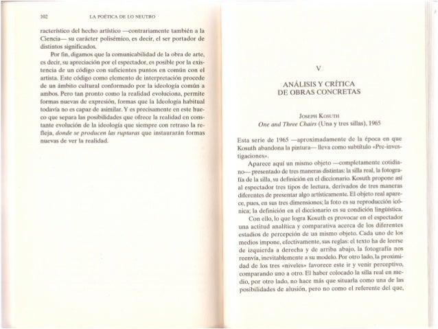 Análisis Obras_Poética de lo Neutro