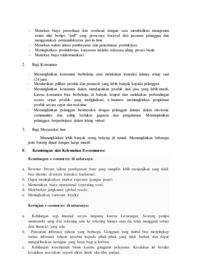 Analisis Pada E Commerce Dan Website Tokopedia Com