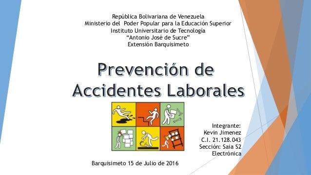 Analisis para la prevenci n de accidentes laborales for Prevencion de riesgos laborales en la oficina