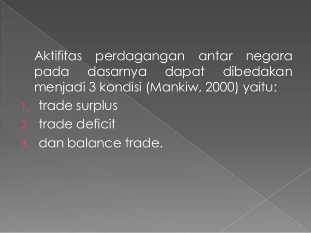 Analisis perdagangan